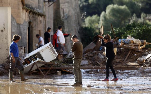Torrental rains and flooding claimed the lives of 13 people in Majorca