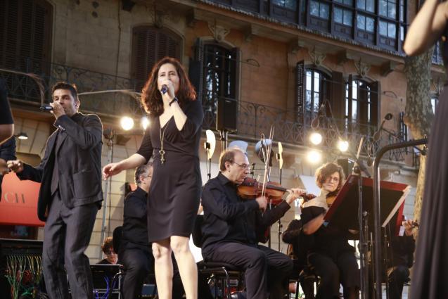 Cap Pela perform in Inca this evening