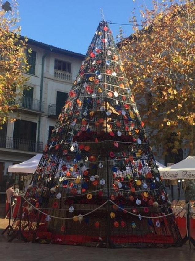 The Soller Christmas tree