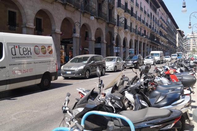 There will no longer be parking restriction in Palma