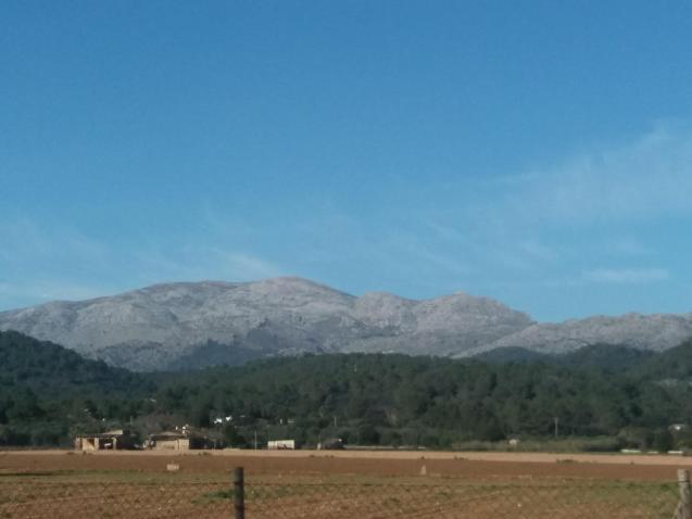 Views of the Tramuntana mountain range