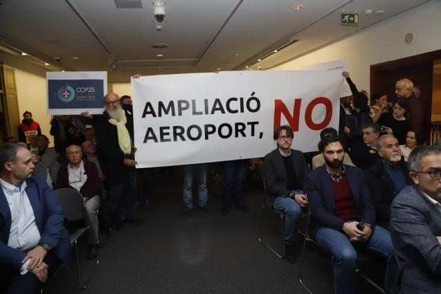 Expansion at Palma's Son San Joan airport is opposed