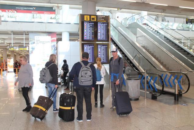 The Balearics only got 1.28 million national tourists