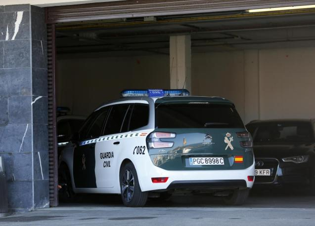 The Guardia Civil are investigating