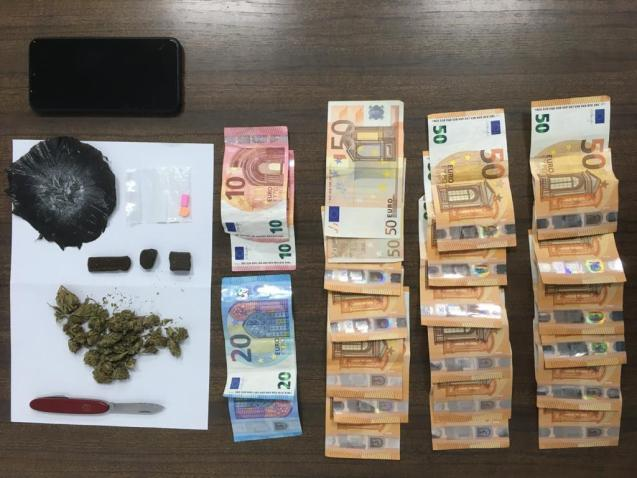 Some of the drugs seized by the National Police