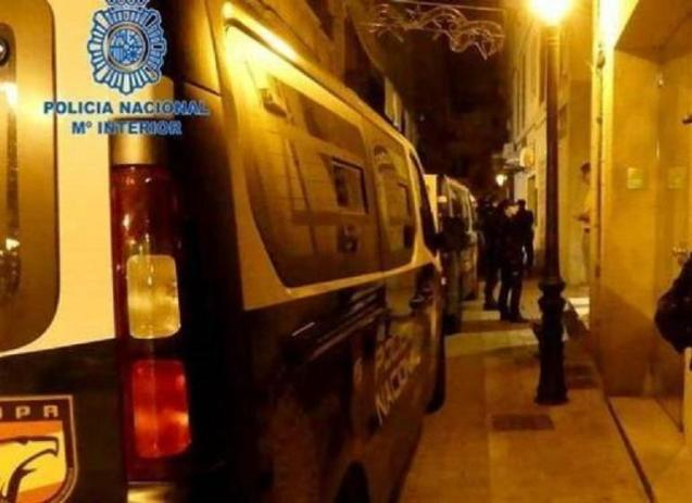 The National Police arrested the man on the Paseo Maritimo