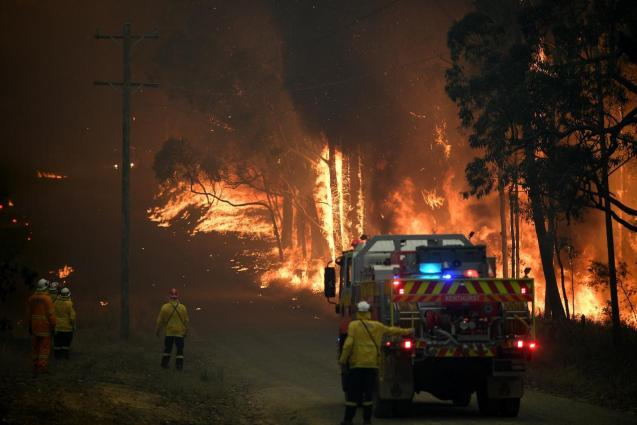 The fires are still burning throughout Australia