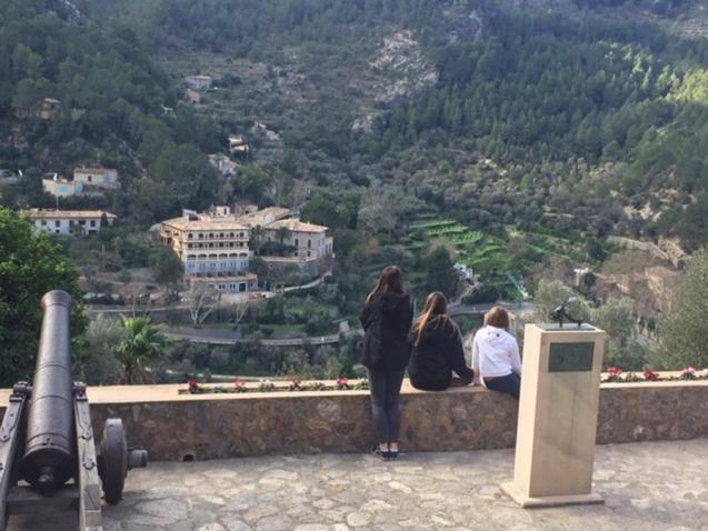 Views over Deya