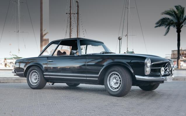 For stylish looks it's hard to beat a Pagado Mercedes