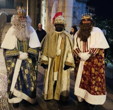 The Three Kings were in Soller on Monday.