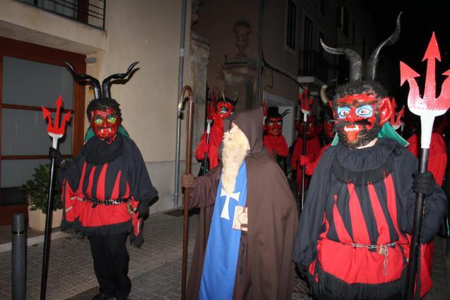 Sant Antoni fiestas in Sa Pobla