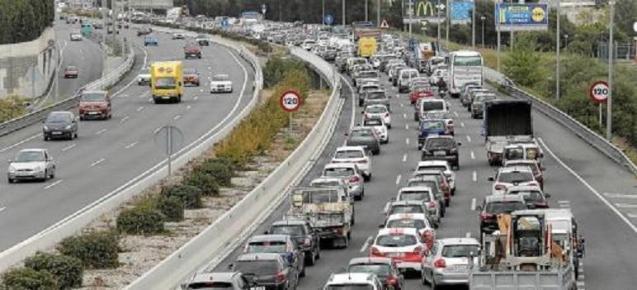 The Via Cintura ring road around Palma