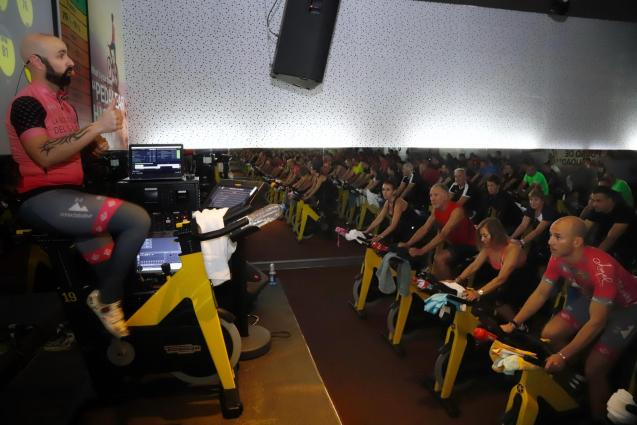 The most popular classes at the beginning of the year are spinning, zumba and body pump