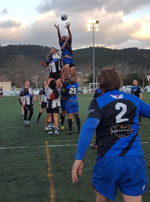 Bahia RC v EL Toro RC lineout