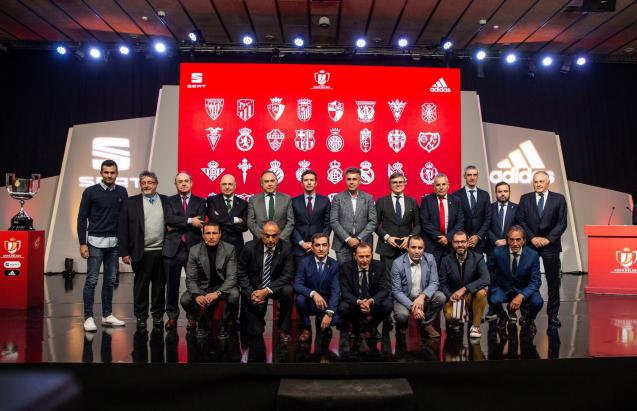 Copa del Rey Cup draw in Madrid