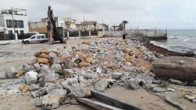 Works at the port of El Molinar began last year.
