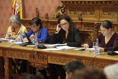 Catalina Cladera, president of the Council of Majorca.