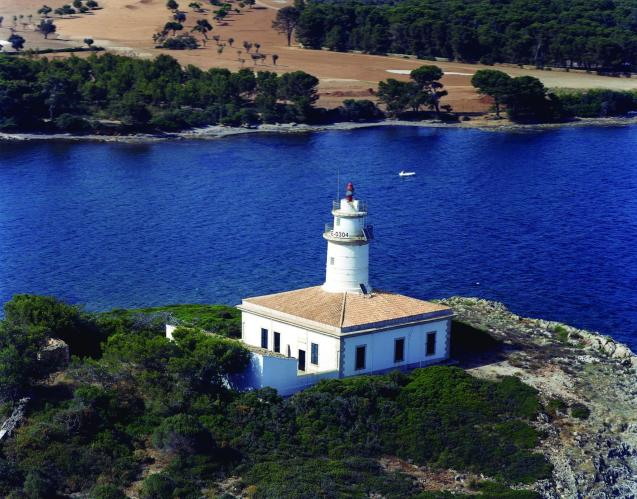 The lighthouse of Capdepera is one emblematic of the municipality and is used in promotional brochures