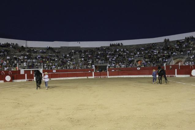 Bullfighting ring in Inca