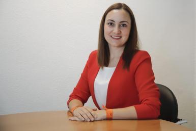 Beatriz Camiña of Ciudadanos, who is demanding an investigation of the IMAS.