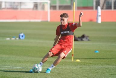 Alejandro Pozo, Mallorca's new on-loan player from Sevilla.