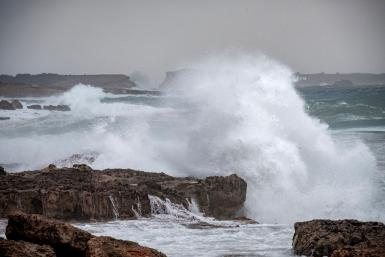 The bad weather has also hit other other islands like Ibiza.