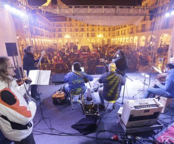 The music night of Sant Sebastia