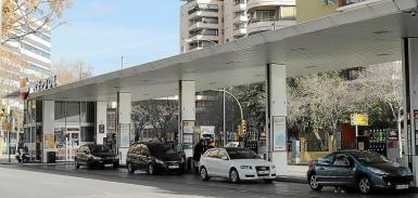 Fuel costs more in the Balearics than elsewhere in Spain.
