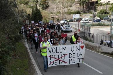 There was a protest a couple of years ago against development in Deya.