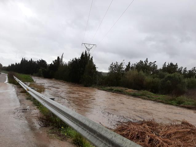 Flooding in Sa Pobla