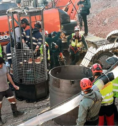 Miners from around the world came to try and rescue Julen.