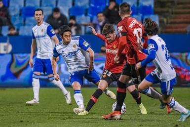 Mallorca disappointed in their cup tie at Zaragoza.