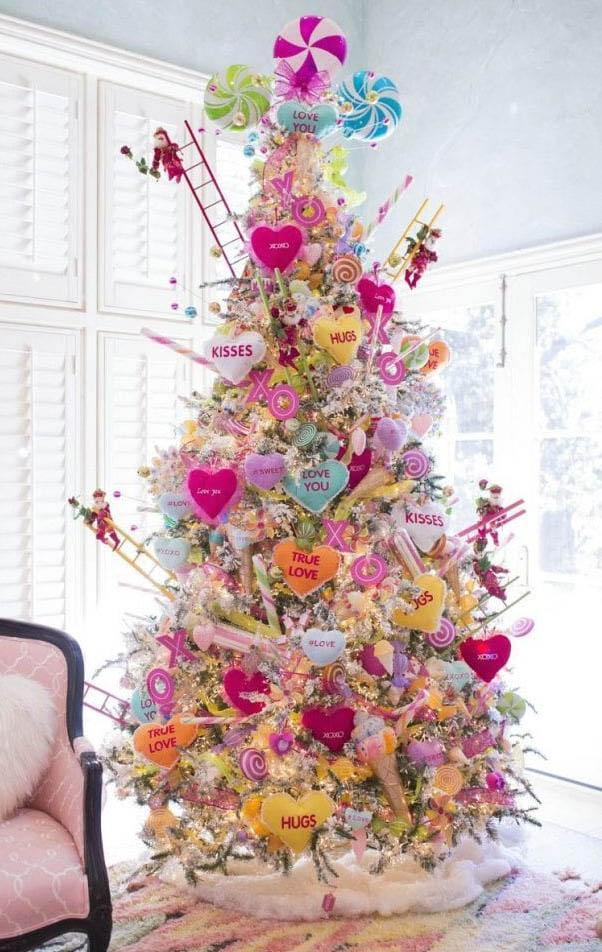 A Valentine's tree.