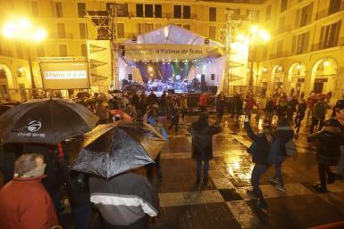 Storm Gloria leaves Sant Sebastià concerts bare.