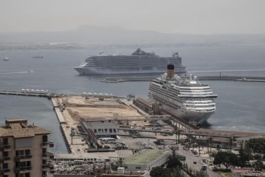 Cruise ships in Palma.