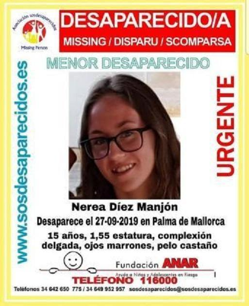 Nerea disappeared last September