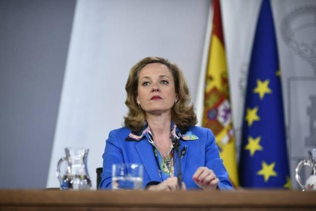 Economy Minister Nadia Calvino