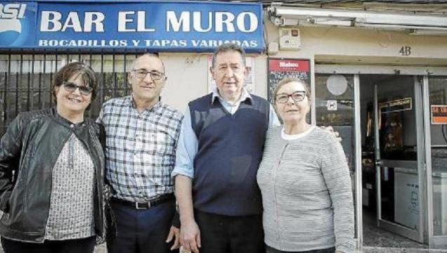 Aurelia Cabrera, Pedro Gómez, Antonio García and Manuela Fernández