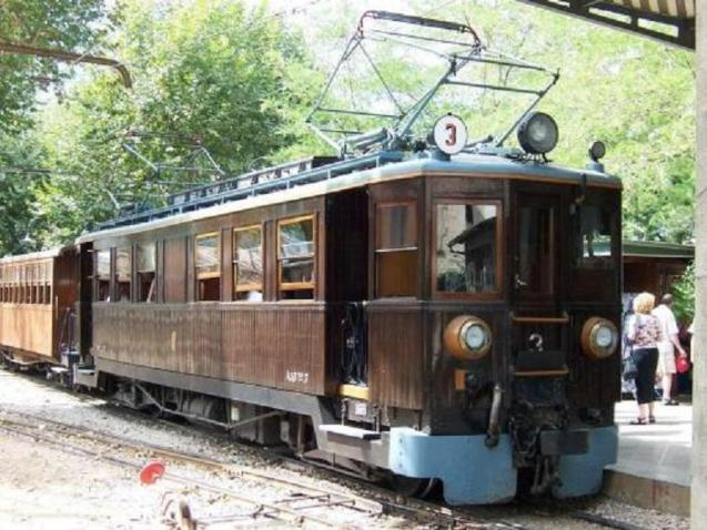 The antique Soller train
