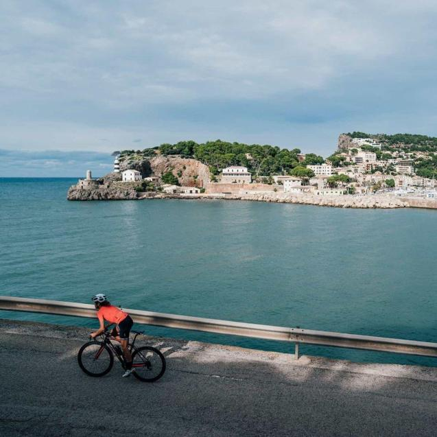 Cycling is very popular in Majorca