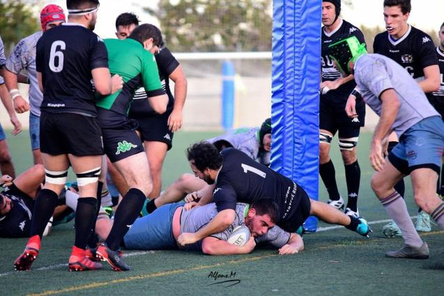 Ricardo Vaquera scored two tries for Babarians