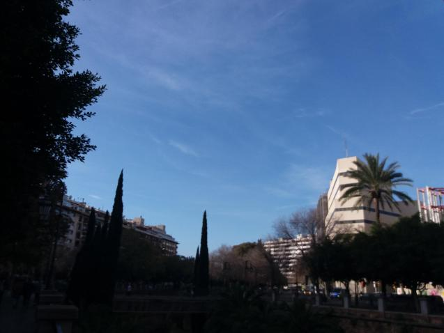 Temperatures in Palma could reach 17º today