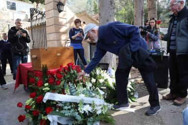 Tributes were paid to Spanish Civil War victims in Puigpunyent.
