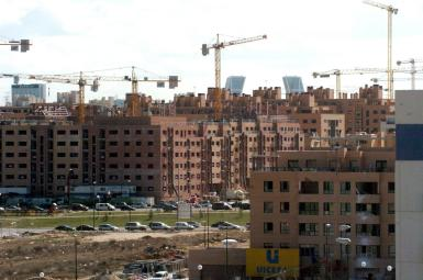 Sales of new homes in Spain went up in 2019.