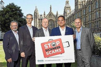 A number of British people were questioned by police regarding their involvement in the scam.