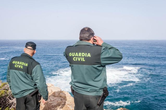 The Guardia Civil are still searching