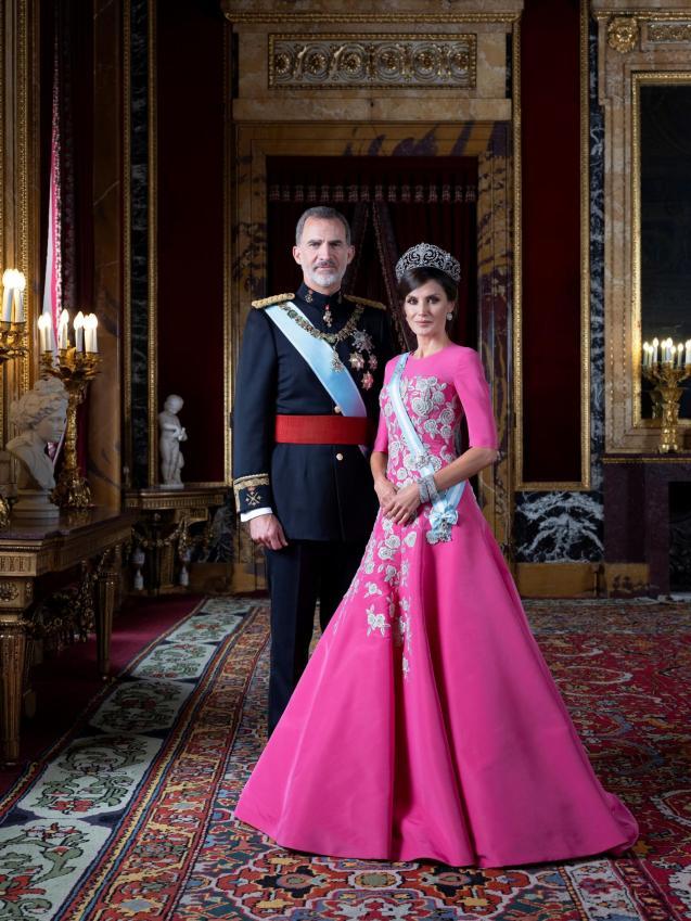 King Felipe VI and Queen Letizia