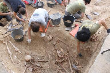 Exhumations on a much smaller scale have been undertaken in Majorca.