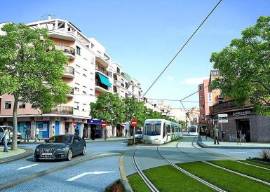 The tram from the centre of Palma to the airport might just become a reality.