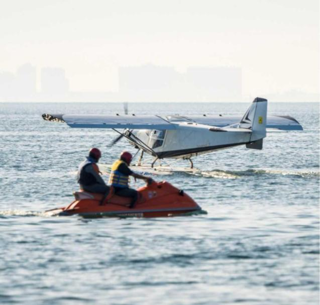 POLLENÇA. TRANSPORTE AEREO. Los hidroaviones `tomarán¿ Pollença con la Copa Schneider